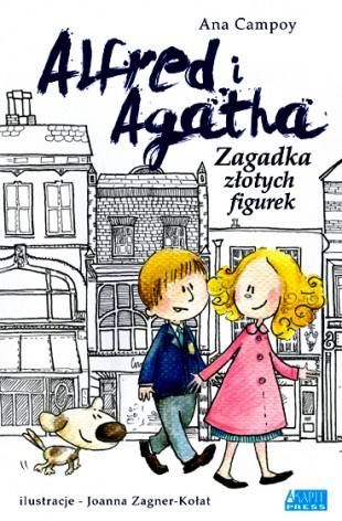 Alfred i Agatha. Zagadka złotych figurek