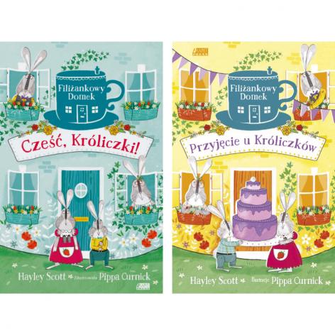Filiżankowy domek (seria): Cześć, Króliczki!, Przyjęcie u króliczków