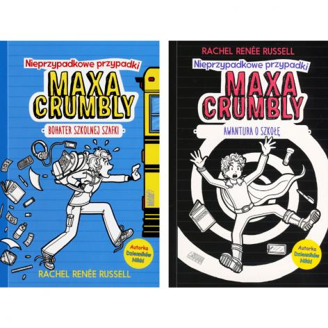 Nieprzypadkowe przypadki Maxa Crumbly (zestaw)