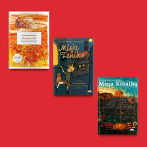 Zestaw książek Ewy Karwan-Jastrzębskiej
